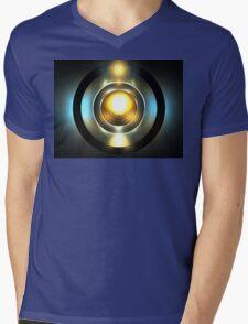 Sky Porthole Mens V-Neck T-Shirt