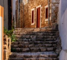 Nimborio Alleyway Steps Sticker