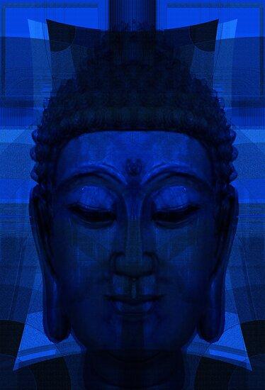 Blue Buddha by Rois Bheinn Art and Design