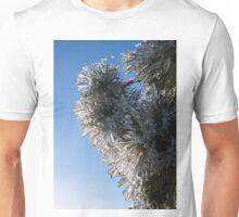 Toronto Ice Storm 2013 - Pine Needle Flowers in the Sky Unisex T-Shirt