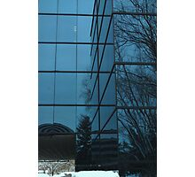 Winter's Reflection Photographic Print