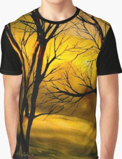 Yellow Moon Graphic T-Shirt
