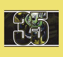 Cal Crutchlow - Monster Tech 3 Yamaha T-Shirt One Piece - Short Sleeve