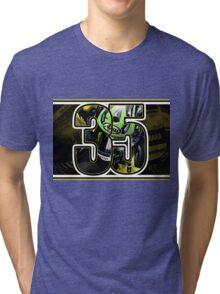 Cal Crutchlow - Monster Tech 3 Yamaha T-Shirt Tri-blend T-Shirt