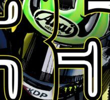 Cal Crutchlow - Monster Tech 3 Yamaha T-Shirt Sticker