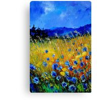 Cornflowers 45 Canvas Print