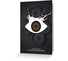 Like Clockwork Greeting Card