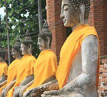 Buddha statues by BengLim
