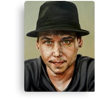 Leon the Artist Canvas Print
