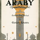 ARABY YOUR CALLING ME (vintage illustration) by ART INSPIRED BY MUSIC