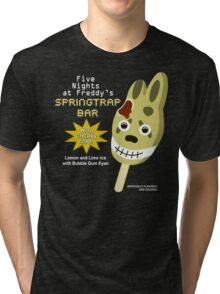 Five Nights at Freddy's 3 - Springtrap Ice Cream Bar Tri-blend T-Shirt