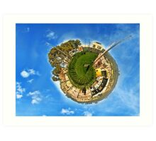 Our world is getting smaller  Art Print