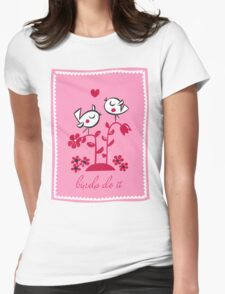 Birds Do It Womens Fitted T-Shirt