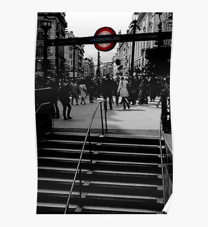 steps to underground Poster