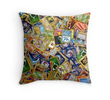 Pokemon Cards Throw Pillow