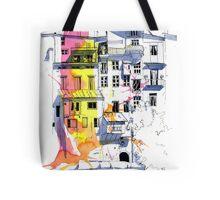Maisons Suspendu, Pont-en-Royans, France Tote Bag