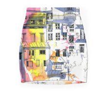 Maisons Suspendu, Pont-en-Royans, France Pencil Skirt