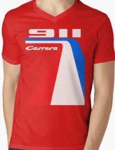 racing stripes Mens V-Neck T-Shirt