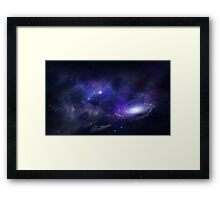space jam Framed Print