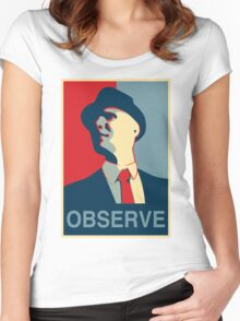 Observe Women's Fitted Scoop T-Shirt