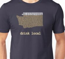 Drink Local - Washington Beer Shirt Unisex T-Shirt
