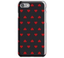 The pattern in the hearts iPhone Case/Skin