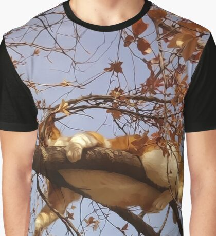 Cat on a tree Graphic T-Shirt
