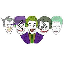 Joker face selector - Joker '66 Photographic Print