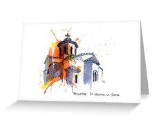 Monastere St-Antoine-Le-Grand, France Greeting Card