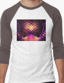 Purple Shells Men's Baseball ¾ T-Shirt