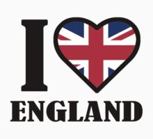 I LOVE ENGLAND by mcdba
