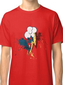 Rainbow Dash Cutie Mark Grain&Splatter Classic T-Shirt