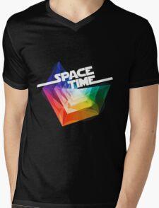 SpaceTime Mens V-Neck T-Shirt