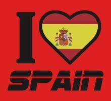 I LOVE SPAIN by mcdba