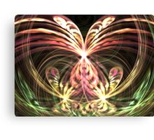 Pink Monarch Canvas Print