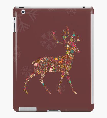 Christmas Reindeer 4 iPad Case/Skin