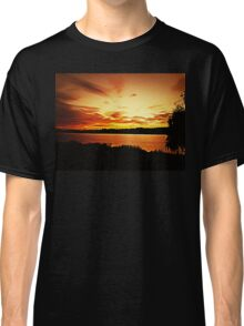 Sunset Delia Lake 2015 Classic T-Shirt