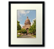 Texas State Capitol Building in Austin Framed Print