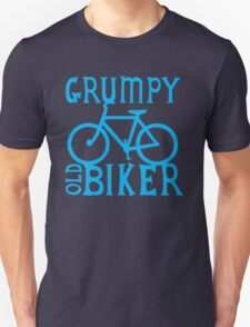 Grumpy old Biker with cycle riding bike bicycle T-Shirt