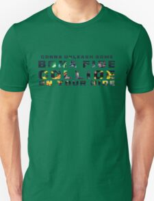 Bona Fide Collide Unisex T-Shirt