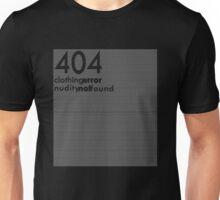 404 clothing error T-Shirt