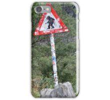Warning! Crossing Trolls iPhone Case/Skin