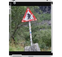Warning! Crossing Trolls iPad Case/Skin