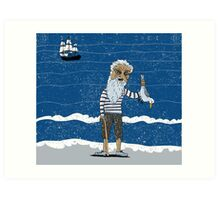 The Ancient Mariner Art Print