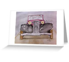 Citroen 1930s Greeting Card
