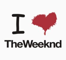 I Heart The Weeknd by ScottW93
