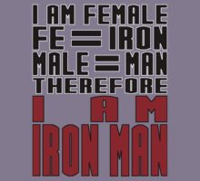 Female = Iron Man by PoppyL