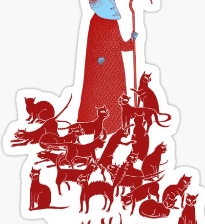 Herding Cats Sticker