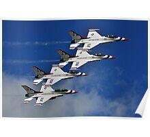 U.S.A.F Thunderbirds Poster