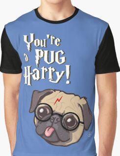 Harry Pug Graphic T-Shirt